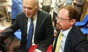 Vince Cable and Julian