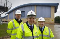 Howarth opens new power station