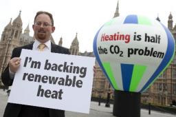 Huppert and renewable heat campaign