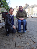 Clare Connon and Julian Huppert