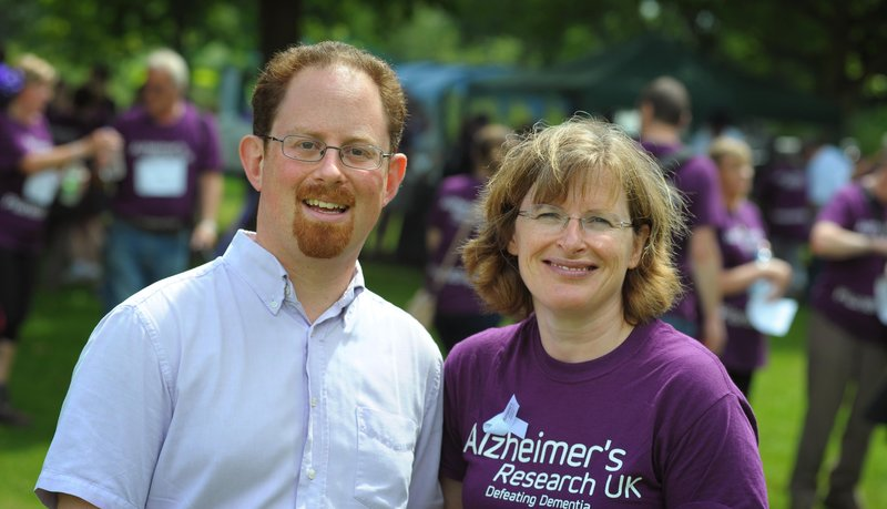 Julian Huppert MP at Alzheimer's Charity Walk