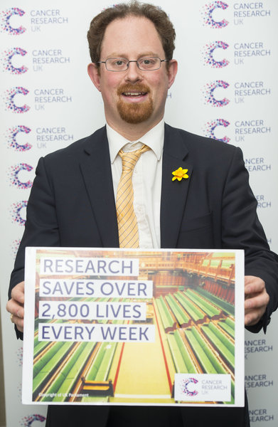 Julian Huppert at Cancer Research UK event