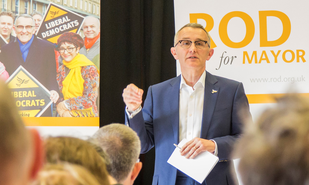Rod Cantrill Selected as Lib Dem Parliamentary Candidate