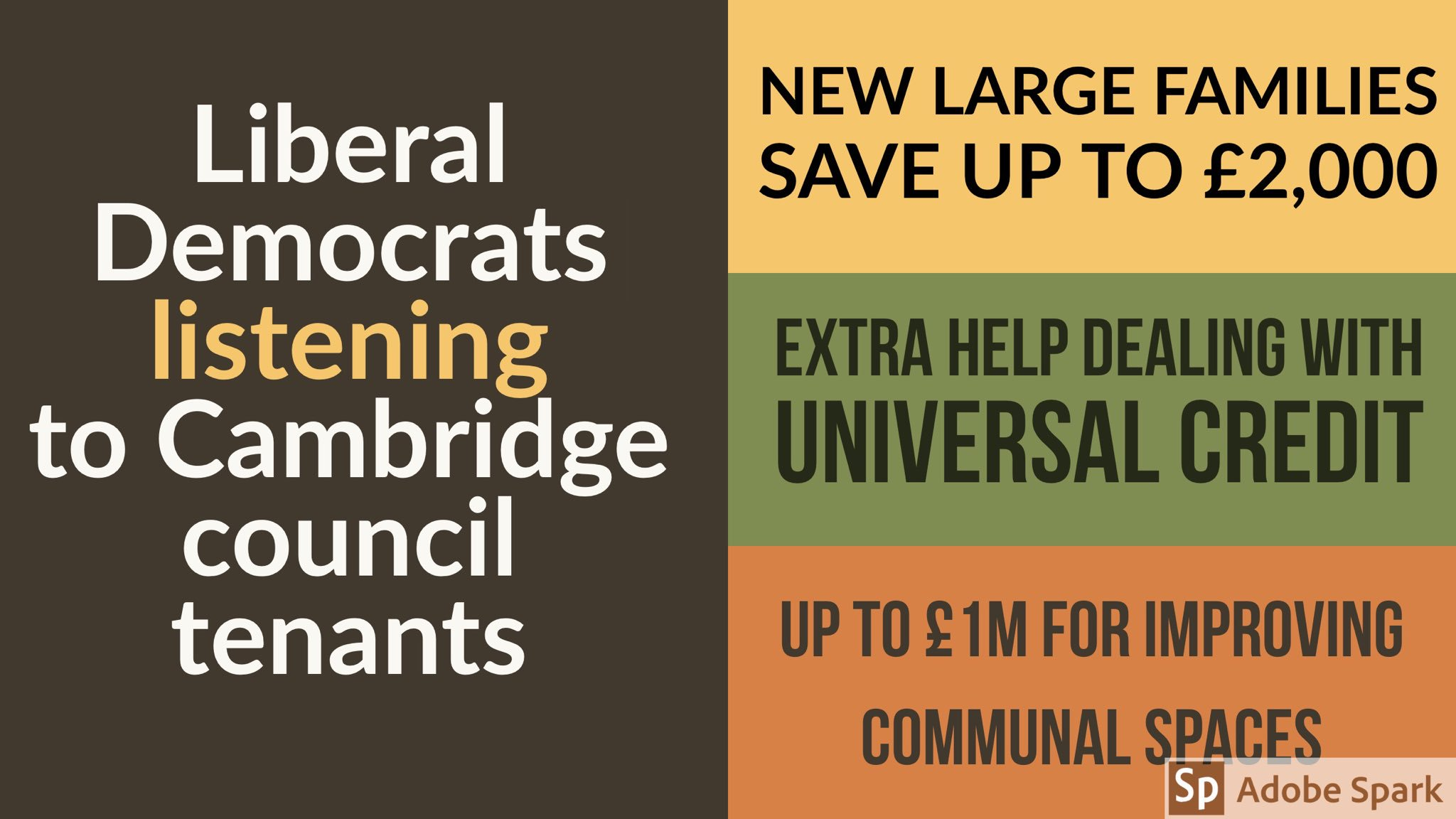 Liberal Democrats listening to Cambridge Council Tenants