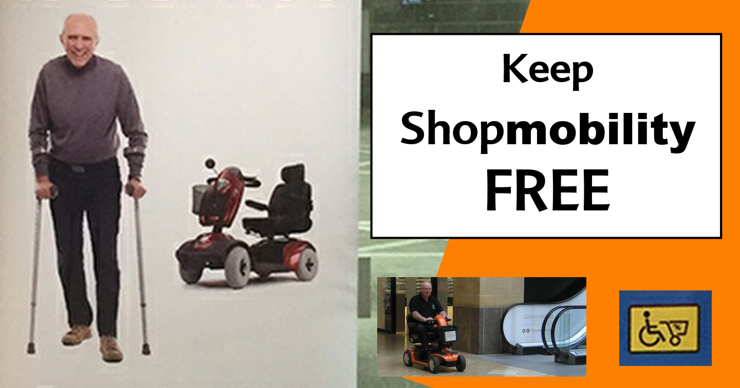Shopmobility Petition