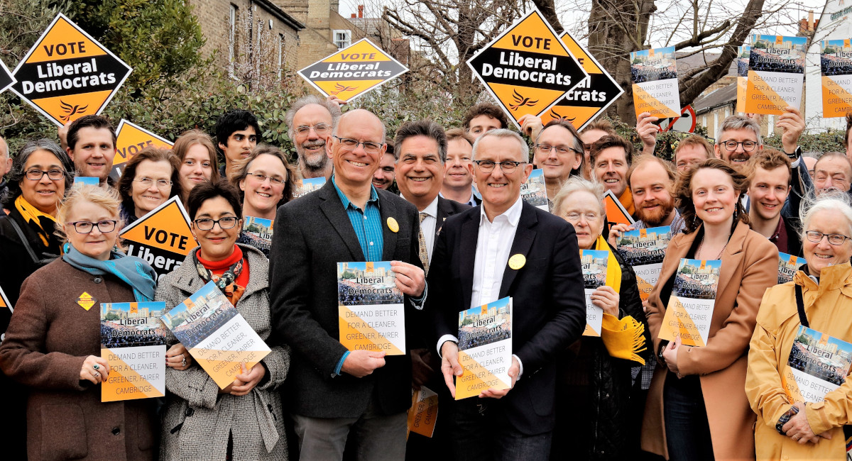 LIB DEMS LAUNCH LOCAL ELECTION CAMPAIGN