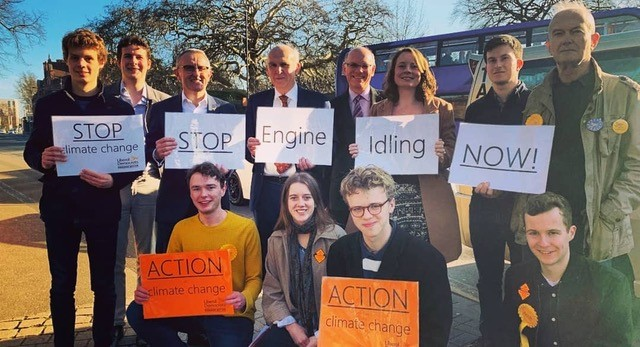 LIB DEMS WELCOME NATIONAL SUPPORT FOR AIR POLLUTION CAMPAIGN