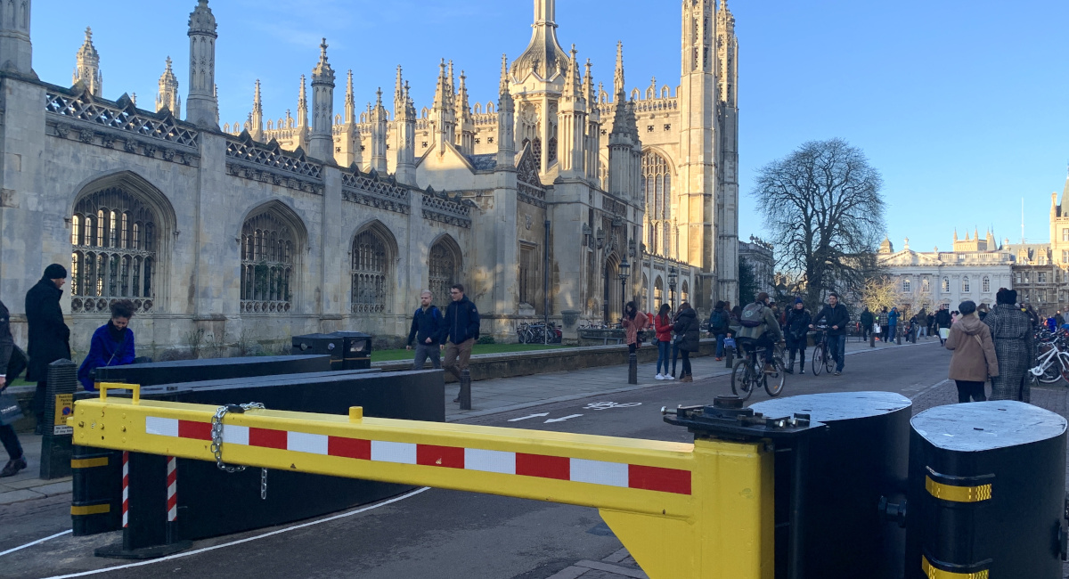 Lib Dems demand early review and improvement of controversial King's Parade Barriers