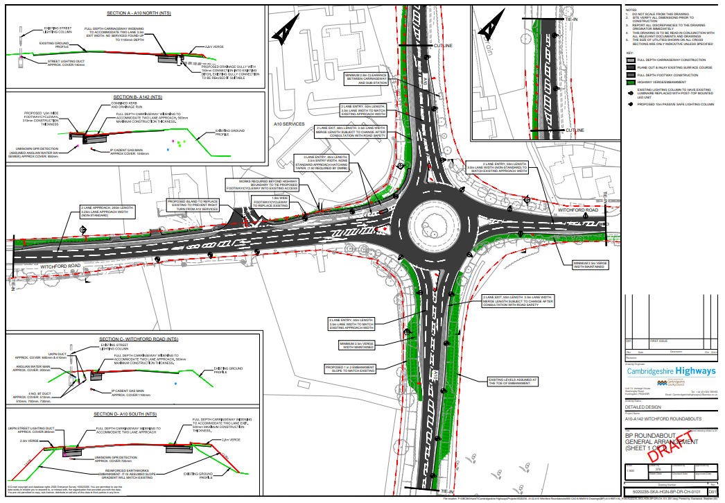 Walkers, Cyclists and Horseriders must not lose out in A10 junction changes