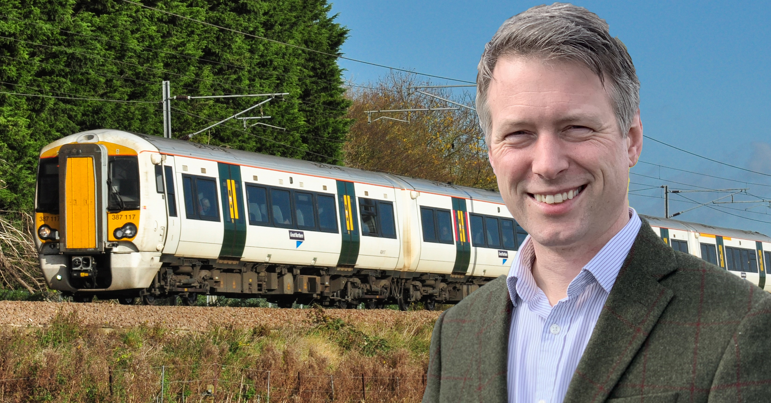 Aidan Van de Weyer condemns failure of Cambs Conservatives to support electrification of East West Rail