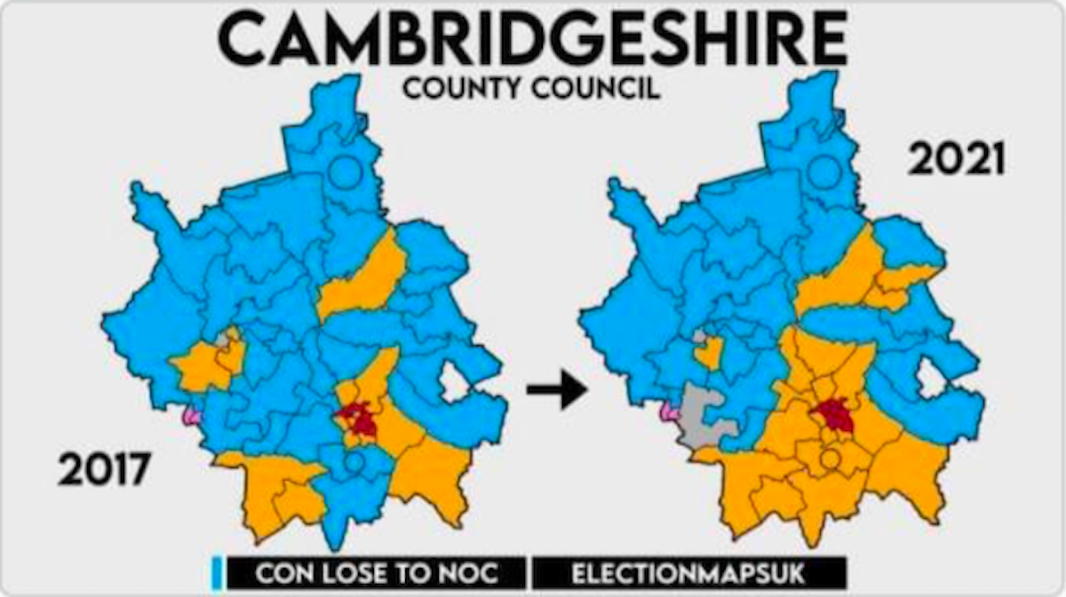 New era begins at Cambridgeshire County Council - thank you to everyone who voted for us!