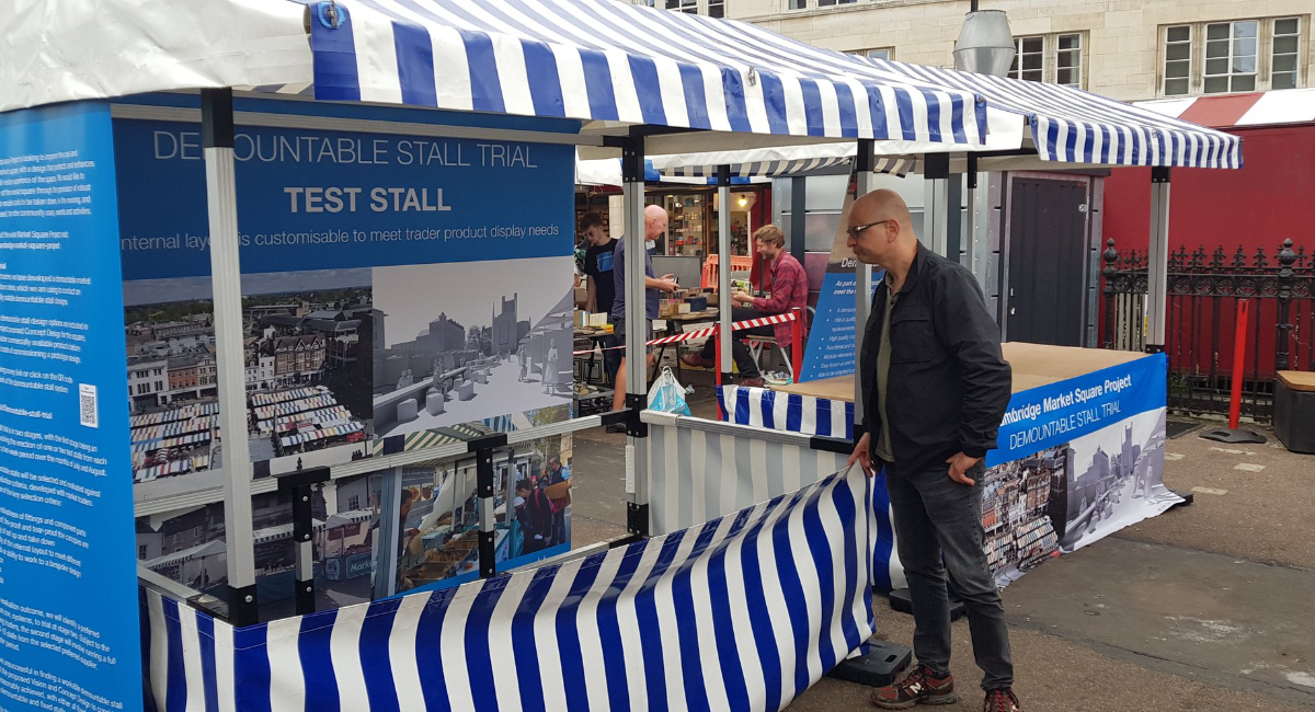 Lib Dems express disappointment at flimsy stalls proposed for Market Square
