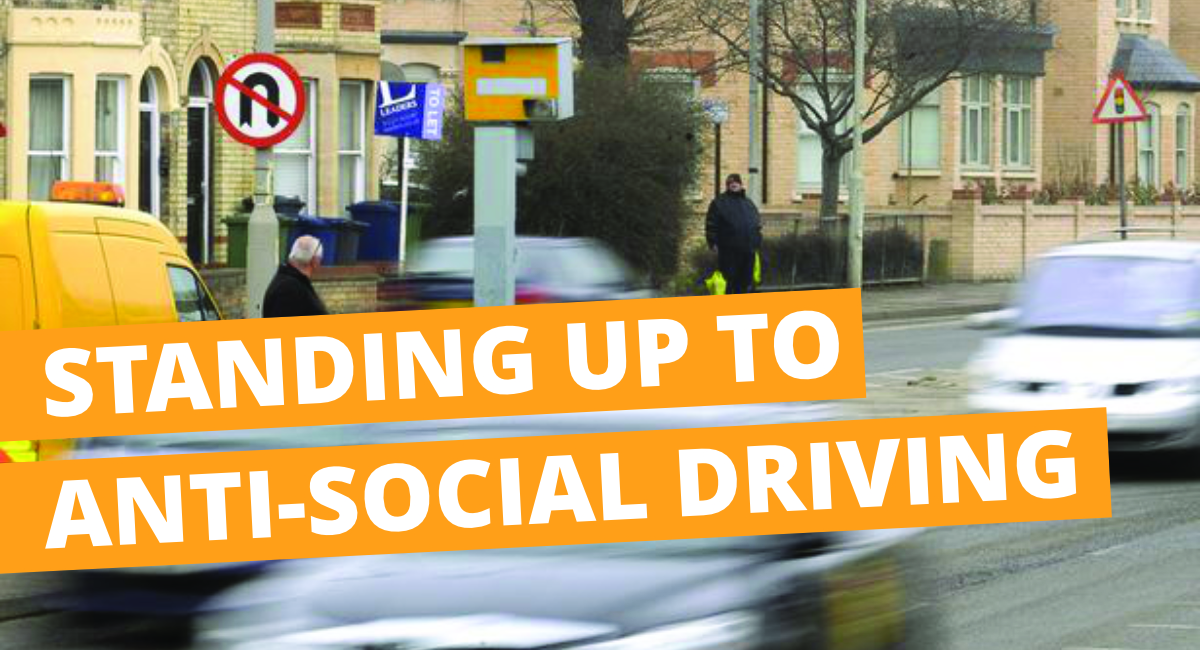 Standing up to anti-social driving