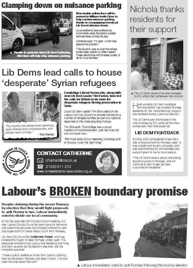 Romsey Reporter Autumn 2015 (page2)
