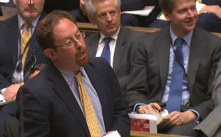 Julian Huppert MP in the House of Commons