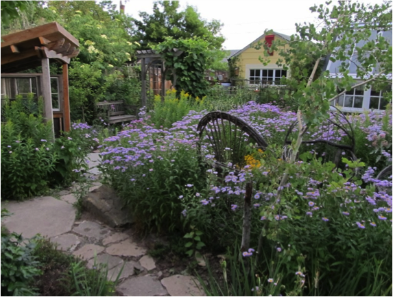 a garden design to heal the wounds of war for vets and their families is the purpose of this project help make it possible