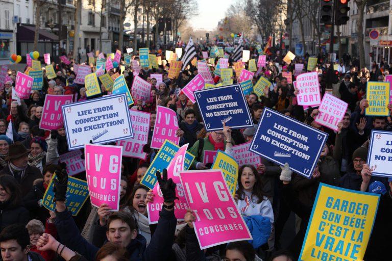 Marche Pour La Vie De Paris Dimanche 21 Janvier 2018