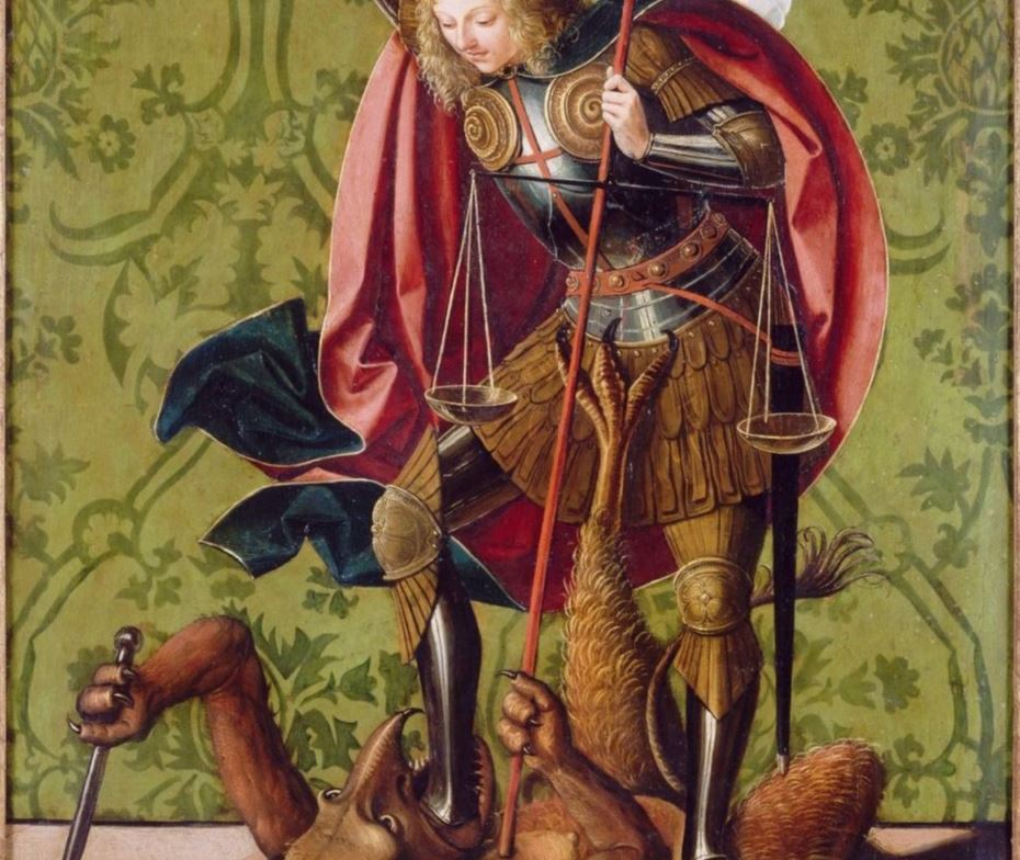 La réalité de l'enfer Saint_Michel_archange_terrassant_satan-Wikimedia_Commons-B