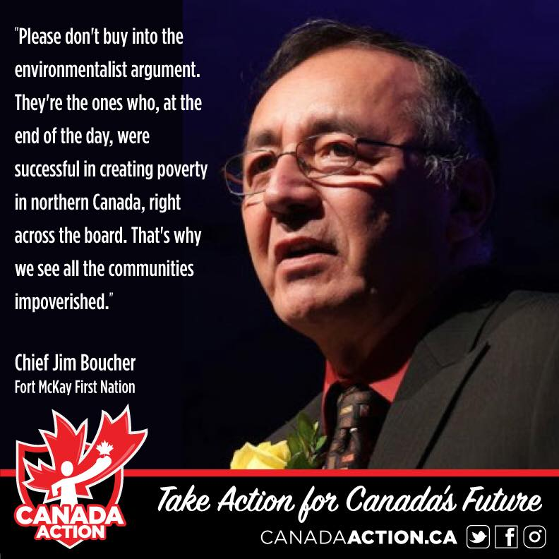 chief jim boucher in support of trans mountain pipeline