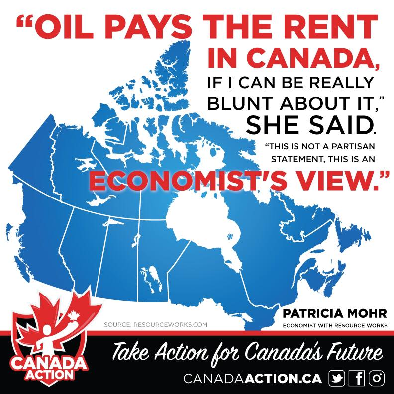 Oil Pays the Rent in Canada - Patricia Mohr
