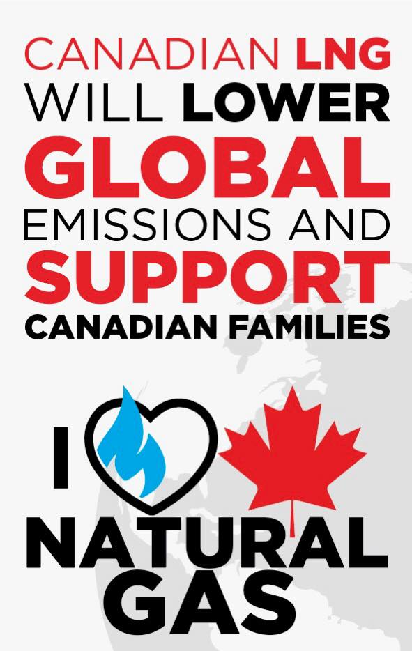 Canadian Natural Gas is Good for Canada & the Global Environment