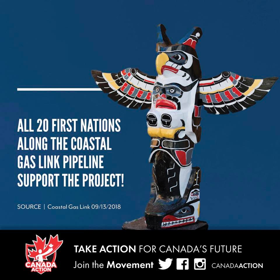 All 20 First Nations Along Coastal Gas Link Approve of New Pipeline Project