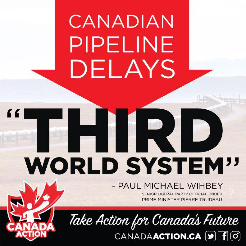 canadian pipeline delays third world system