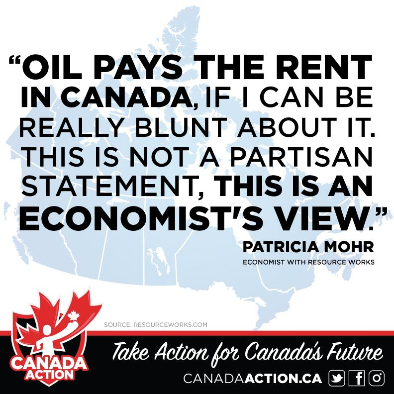 Oil Pays the Rent in Canada