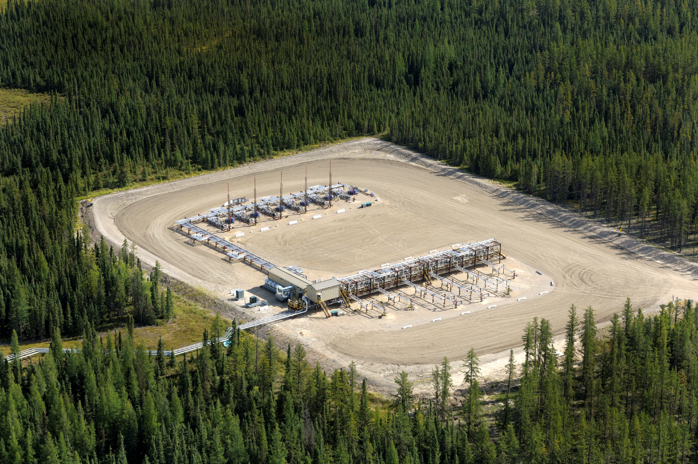 Foster Creek Cenovus Oil Sands Well Pad SAGD