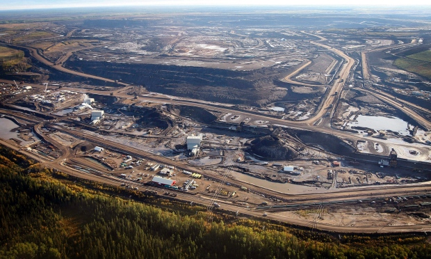 Suncor Fort Hills Mining Operation Canada's Oil Sands