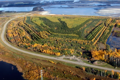 Syncrude Gateway Hill Reclaimed Oil Sands