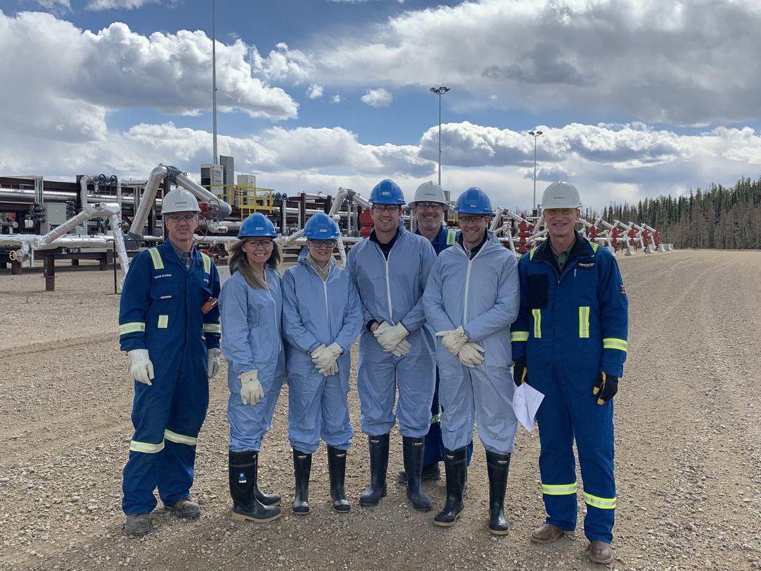 Canada Action Lisa Helps Fort McMurray Oilsands Tour