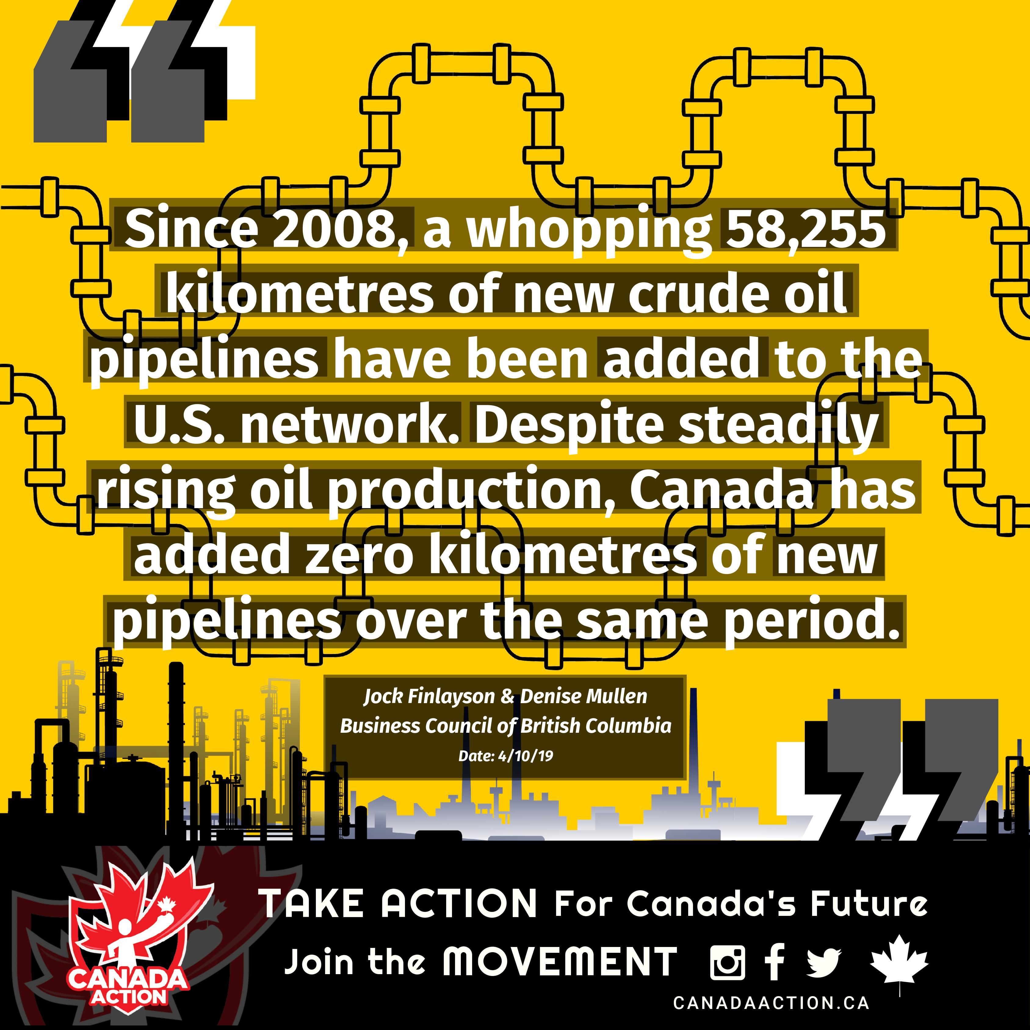Business Council of British Columbia: Pipelines in Canada and Usa