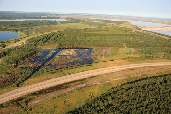 Gateway Hill - Syncrude certified reclaimed oil sands land area