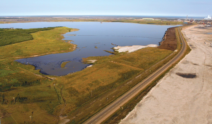 Mildred Lake - reclaimed oil sands mine