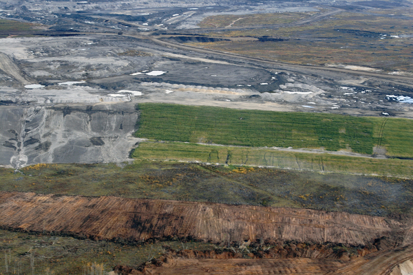 Syncrude - oil sands land reclamation in the works
