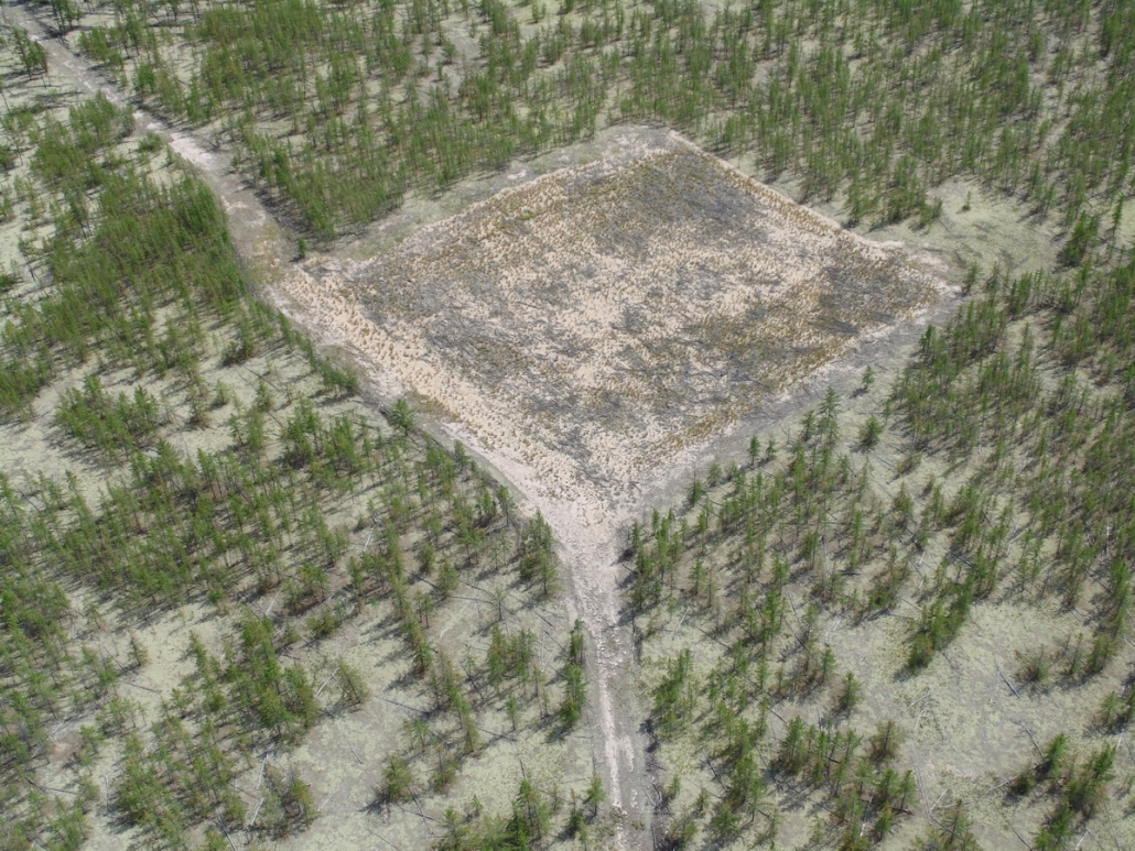 Cenovus - Drilling wellsite reclamation underway
