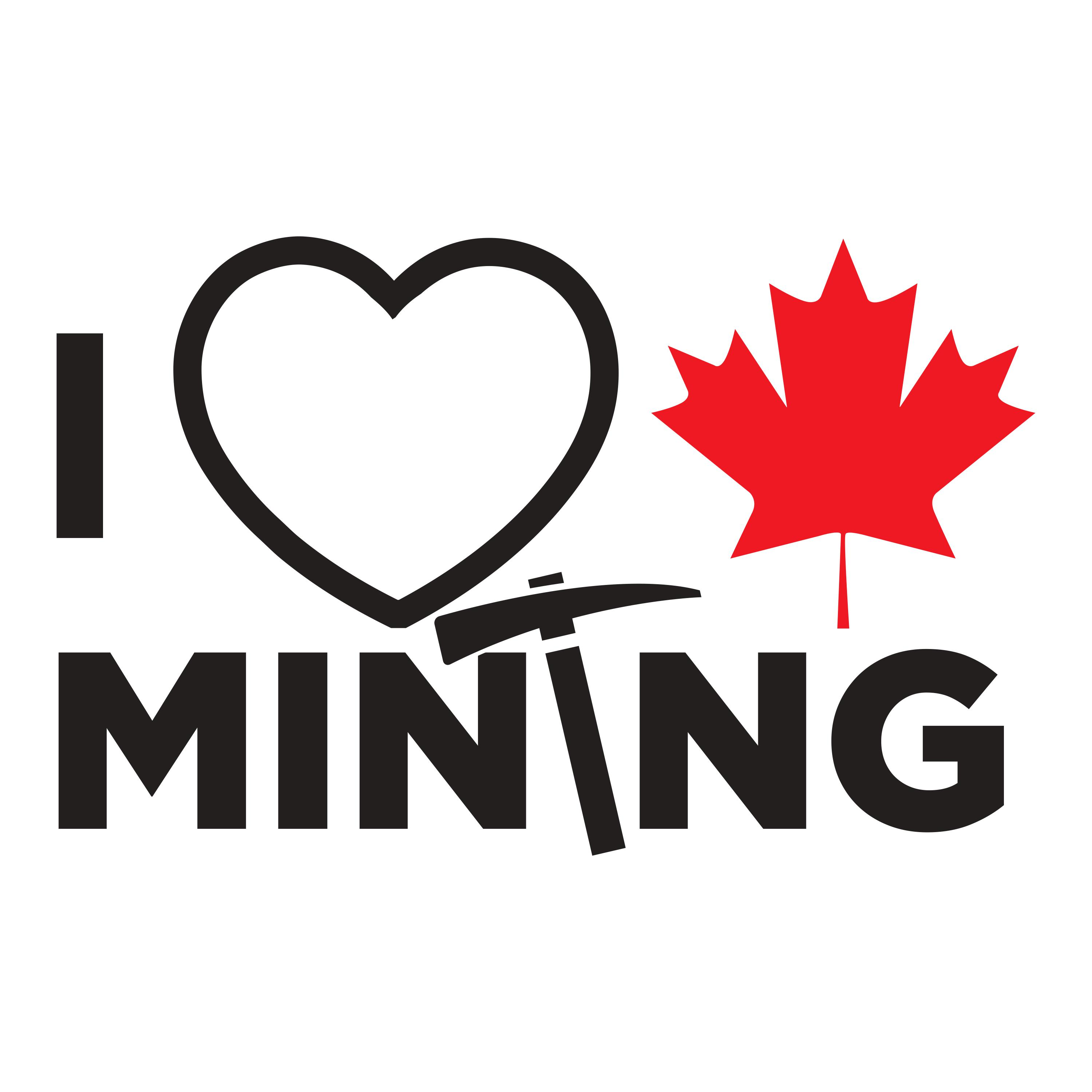 i love canadian mining canada action