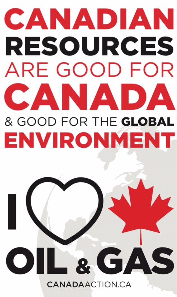 Canadian resources are good for the global environment