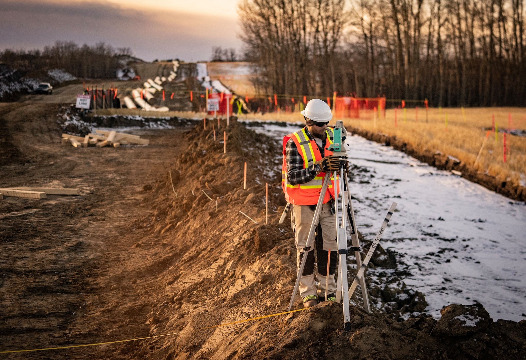 trans mountain expansion construction pipeline in Canada