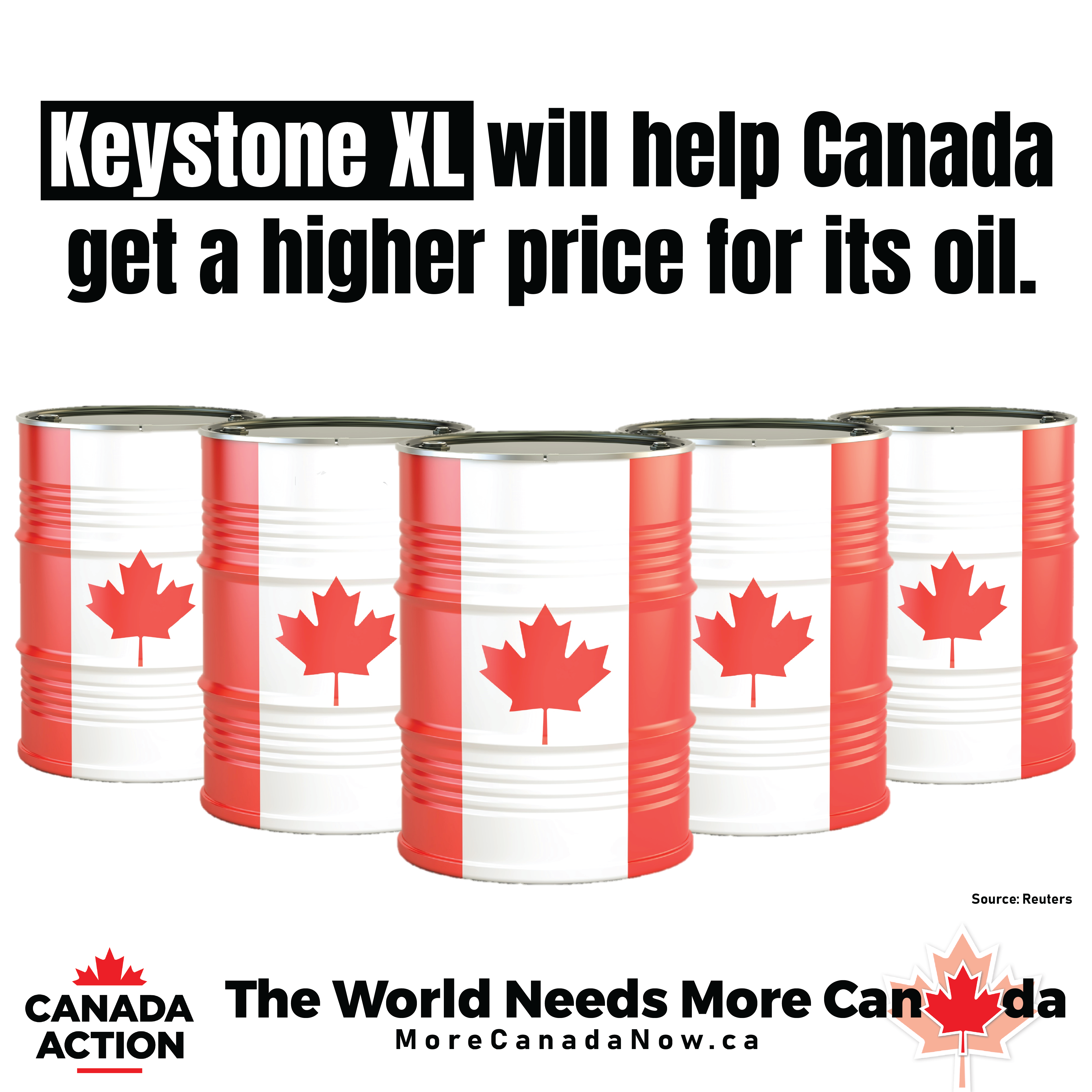 keystone xl will help canada get a higher price for its oil
