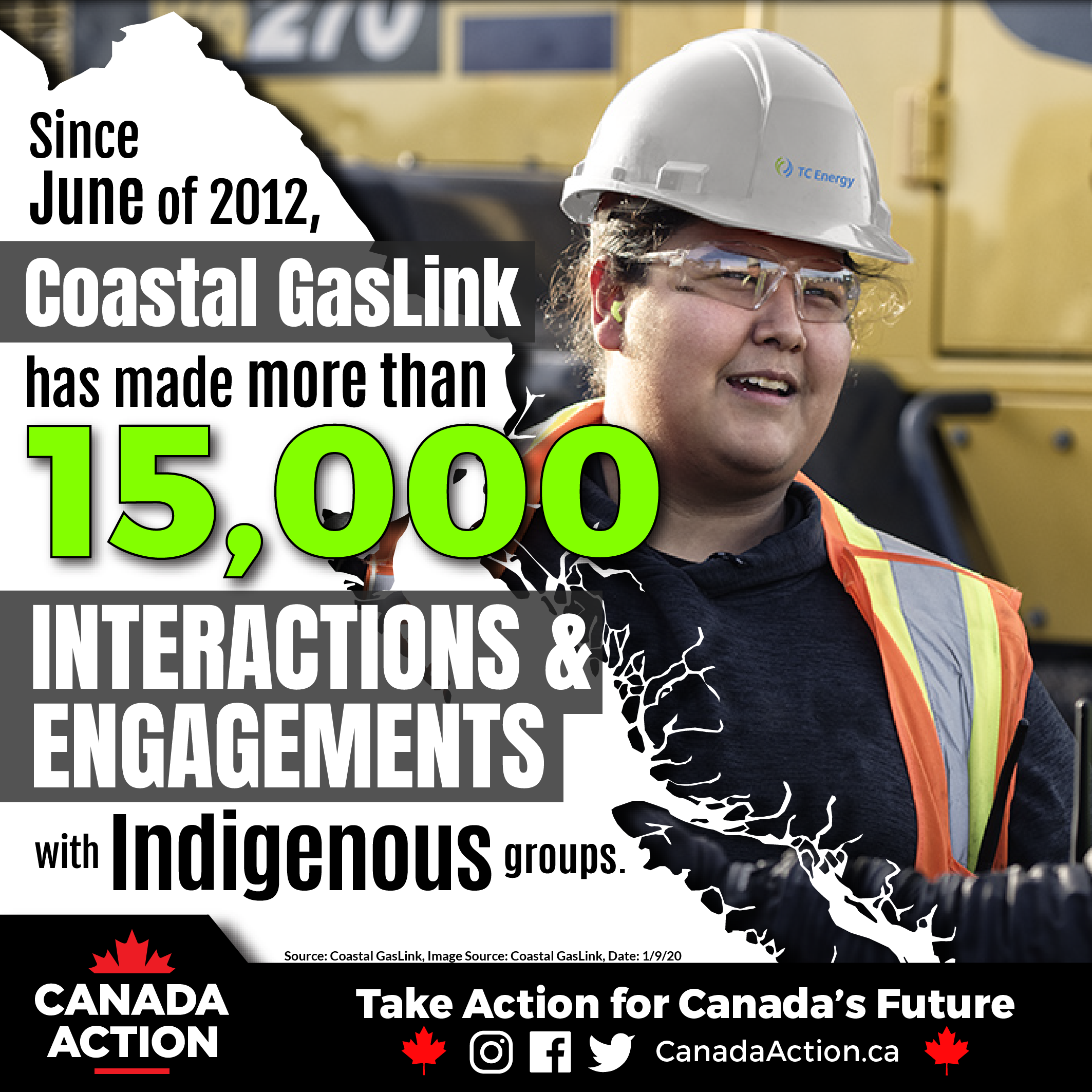 Coastal GasLink 15,000 First Nations Consultations & Engagements