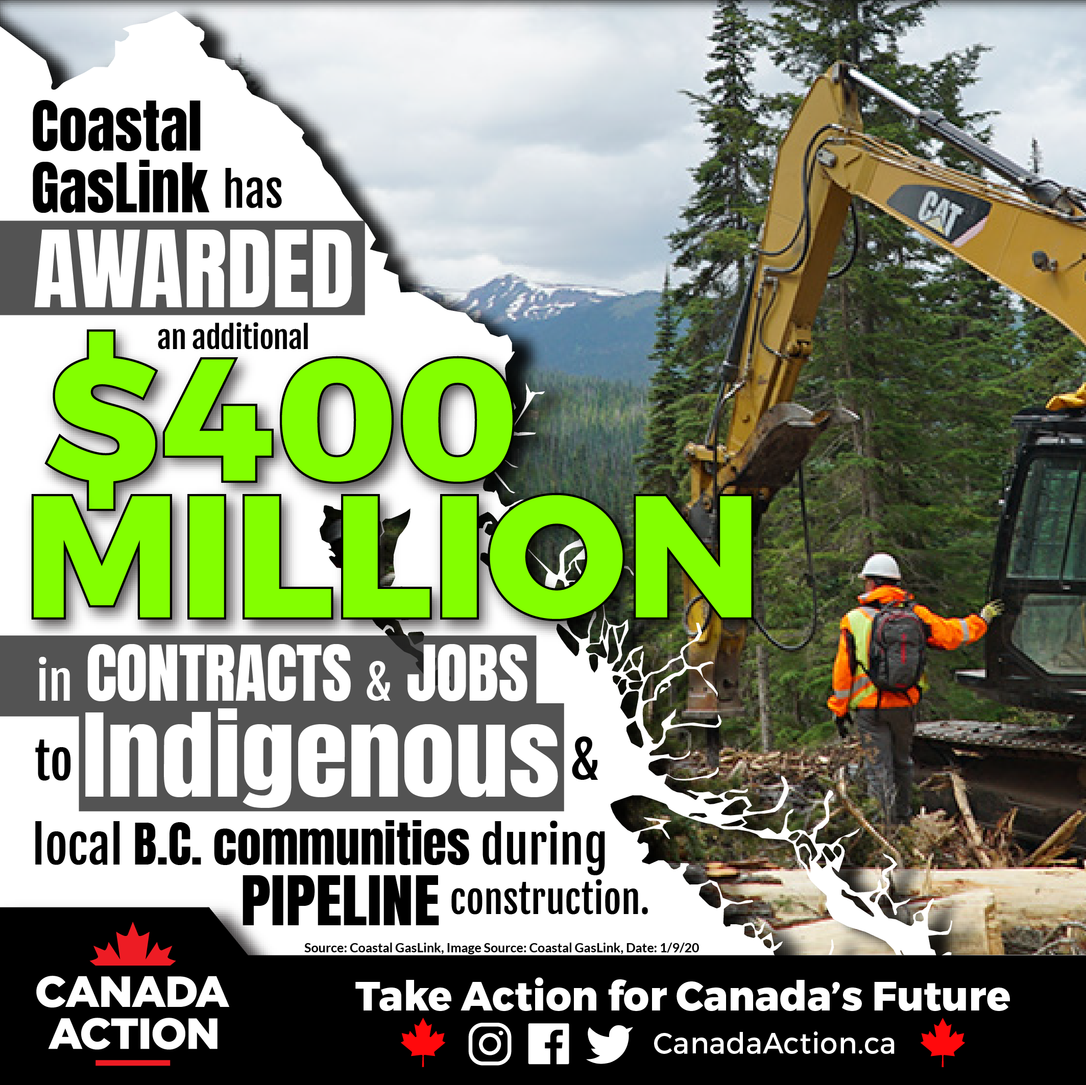 Coastal GasLink $400 Million to Indigenous & Local BC Communities