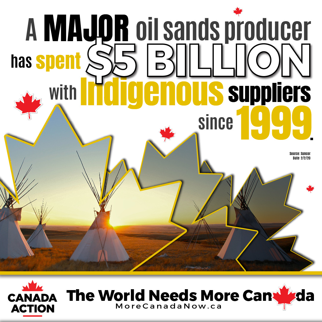 Oil Sands Producer Spent $5 billion with Indigenous companies since 1999
