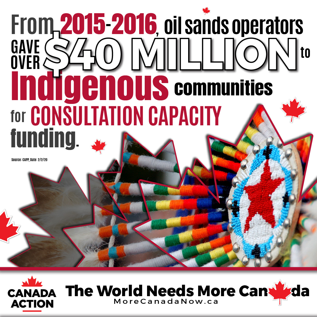 Oil Sands operators spent $40 million on indigenous consultation capacity from 2015-2016