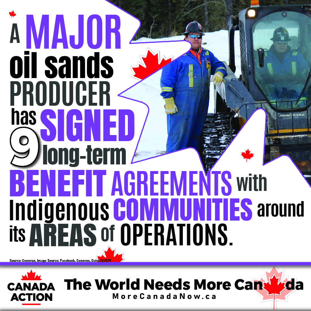 oil sands operator signs 9 long-term benefit agreements with First Nations