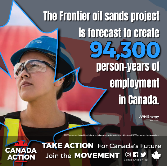 frontier oil sands person-years of employment
