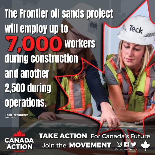 frontier oil sands 7000 jobs created