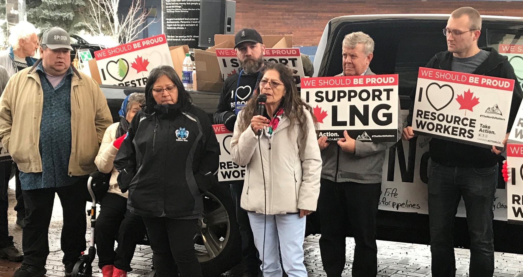 a majority of first nations in B.C. support coastal gaslink