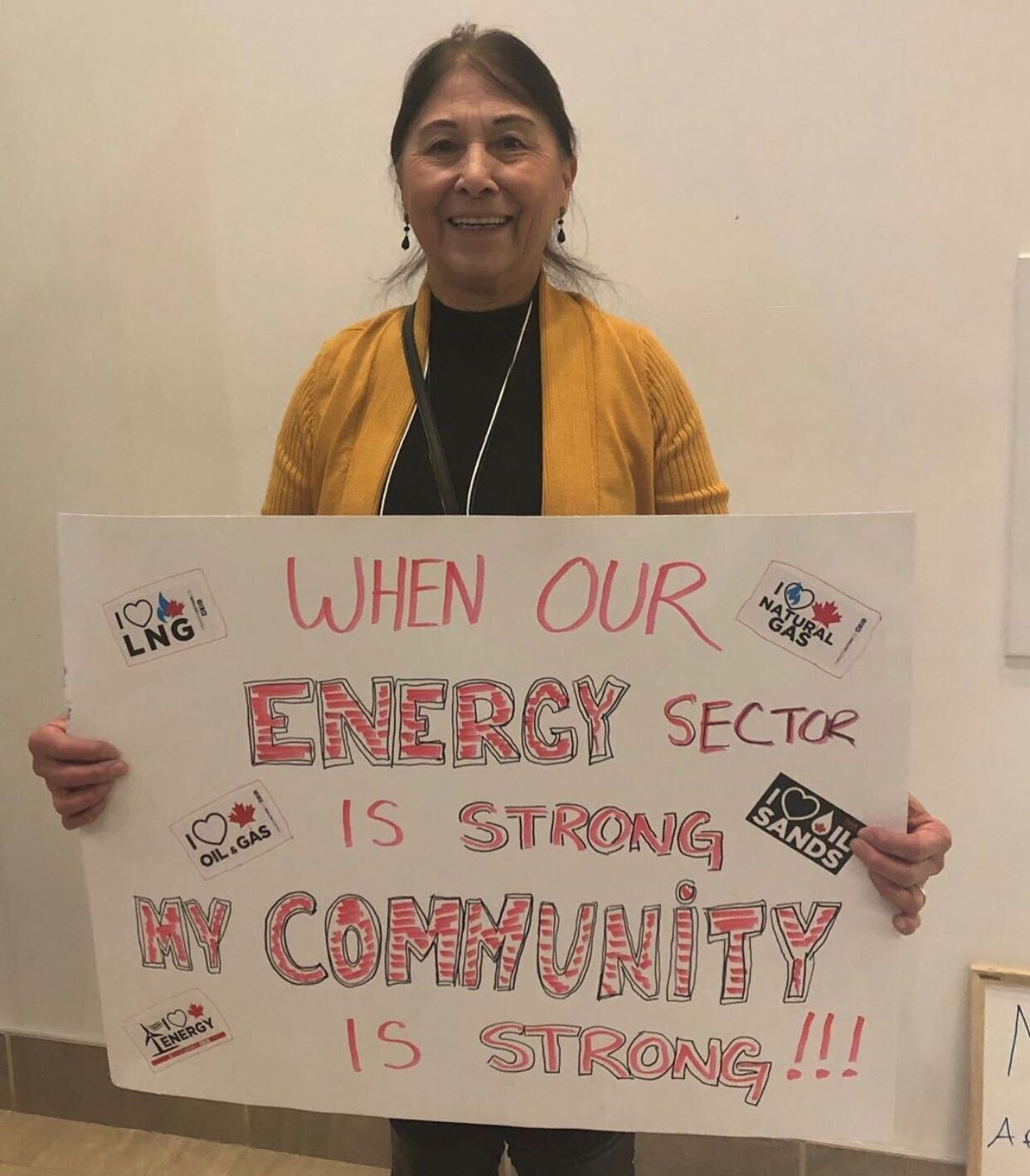 Indigenous supporter of Canadian natural resource development